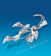 """Фигурка посеребр. """"Цветы Каллы"""" (Юнион) AR-1305"""