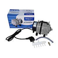 Hailea ACO 318 - поршневой воздушный компрессор для пруда