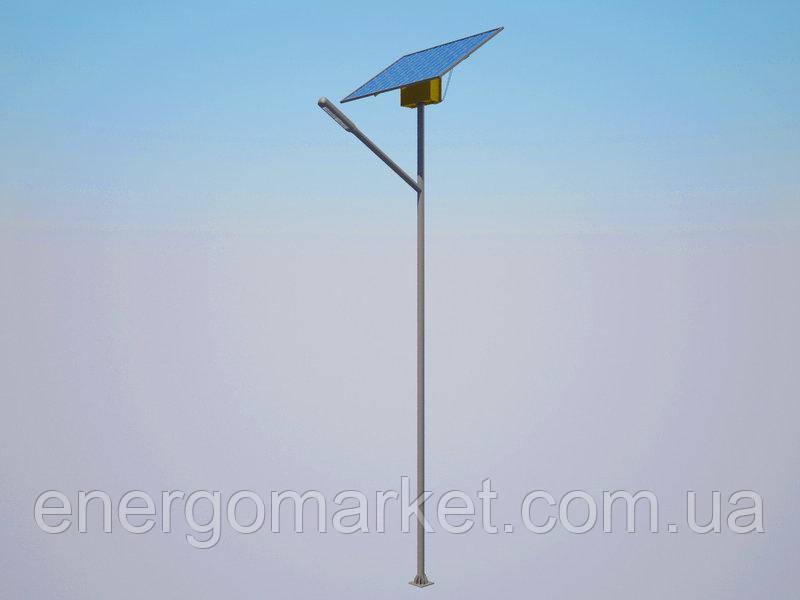 Система автономного освещения Solaris LSM30S с оцинкованной опорой (30 Вт)