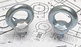Рым-болты М6 ГОСТ 4751-73 из стали А4