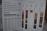 Поліестрова нитка TYTAN 15 Чорний 1500м, фото 3