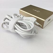 З/у сетевое Lab.C X5 5port USB 8A gold (LABC-587-GD) EAN/UPC: 8809404612176, фото 3
