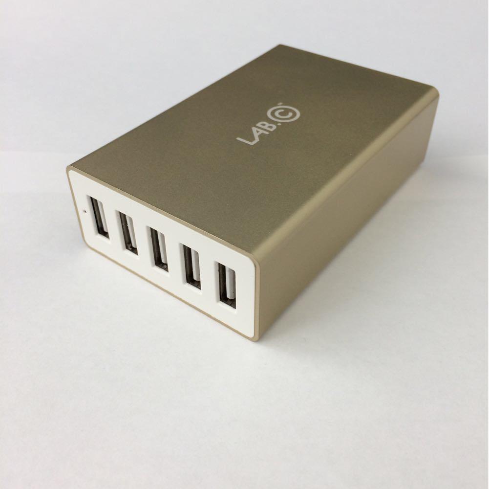 З/у сетевое Lab.C X5 5port USB 8A gold (LABC-587-GD) EAN/UPC: 8809404612176