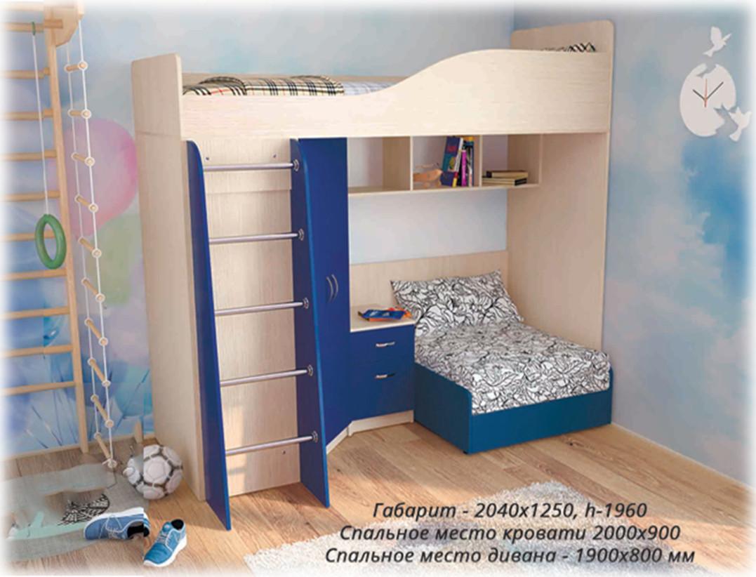 Кровать-чердак Гранд без дивана