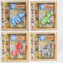 Фігурка для анімаційного творчості Stikbot Safari Pets