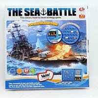 Настольная игра S5507 Морской бой, в кор-ке, 26,5-26,5-3,5см