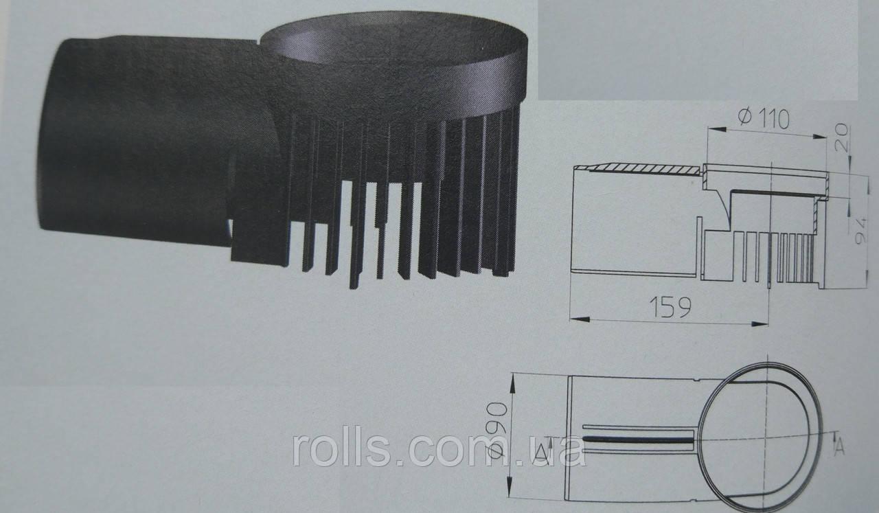 HL163 Дренажный элемент для парапетных воронок серии HL68