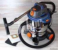 Промышленный пылесос Dexter 1500W на 30 литров