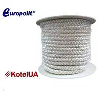 Шнур керамический Europolit ECZ 10 (уплотнительный, термостойкий, армированный)