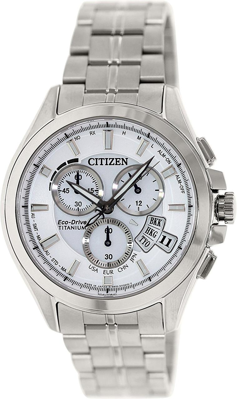 Часы Citizen Atomic Titanium Sapphire BY0051-55A Attesa