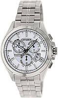 Часы Citizen Atomic Titanium Sapphire BY0051-55A Attesa, фото 1