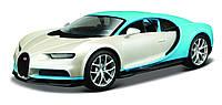 Автомодель Maisto (1:24) Bugatti Chiron Бело-голубой (32509 white/blue)