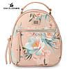 Рюкзак городской женский с цветами DAVID JONES (розовый )