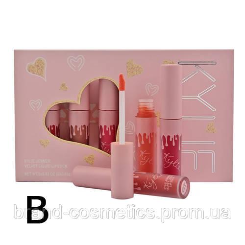 Набор жидких матовых Kylie Jenner Matte Liquid Lipstick Палитра В