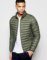 Куртка мужская весенняя, осенняя, демисезонная хаки