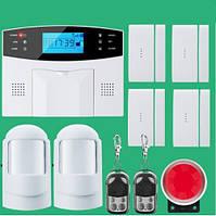 Комплект беспроводной GSM сигнализации SGA-9907. Обновленный комплект №3