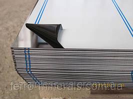 Нержавеющий лист 1,2х1000х2000мм,  AISI 304 (08X18H10), 2В+РЕ