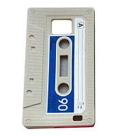 Силиконовый чехол касета для Samsung Galaxy S2 i9100 Бежевый