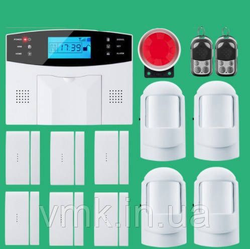 Комплект беспроводной GSM сигнализации SGA-9907. Обновленный комплект №5