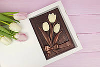 Шоколадные цветы для мамы