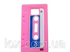 Силиконовый чехол касета для Samsung Galaxy S2 i9100 Розовый