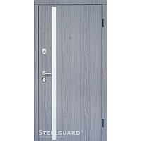 Двери входные Steelguard АV-1 Grey Дуб вулкано