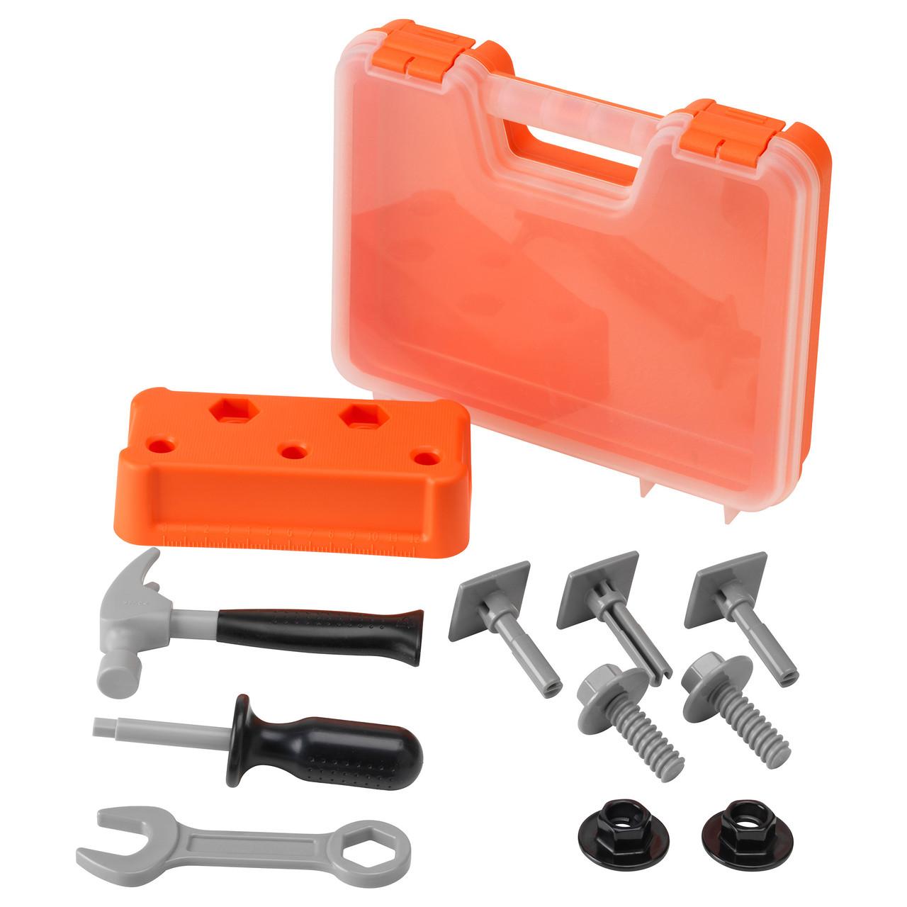 ДУКТИГ Набор детских инструментов 60164828 IKEA, ИКЕА, DUKTIG