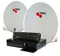 Комплект для сутникового ТВ на 4 спутника Премиум HD «с Wi-Fi в Комплекте»