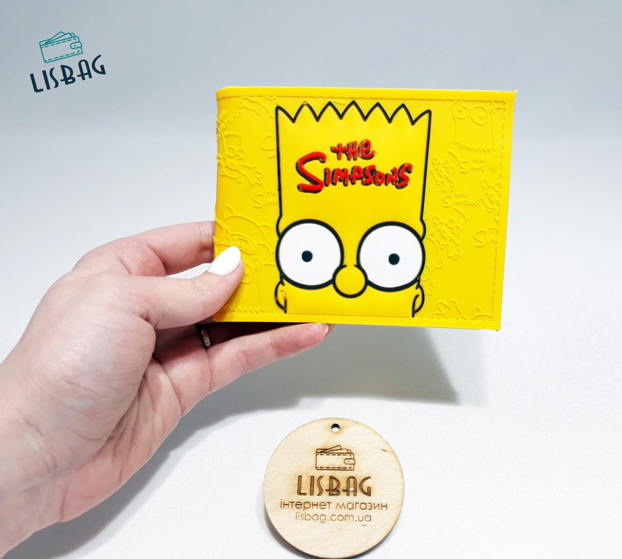 e9ee71c2d62c Кошелек Барт Симпсон Simpsons желтый (с отделом для мелочи): продажа ...
