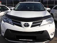 Мухобойка,дефлектор капота Toyota RAV 4 2013- (Sim)