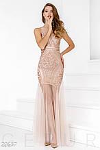 Блистательное платье-годе