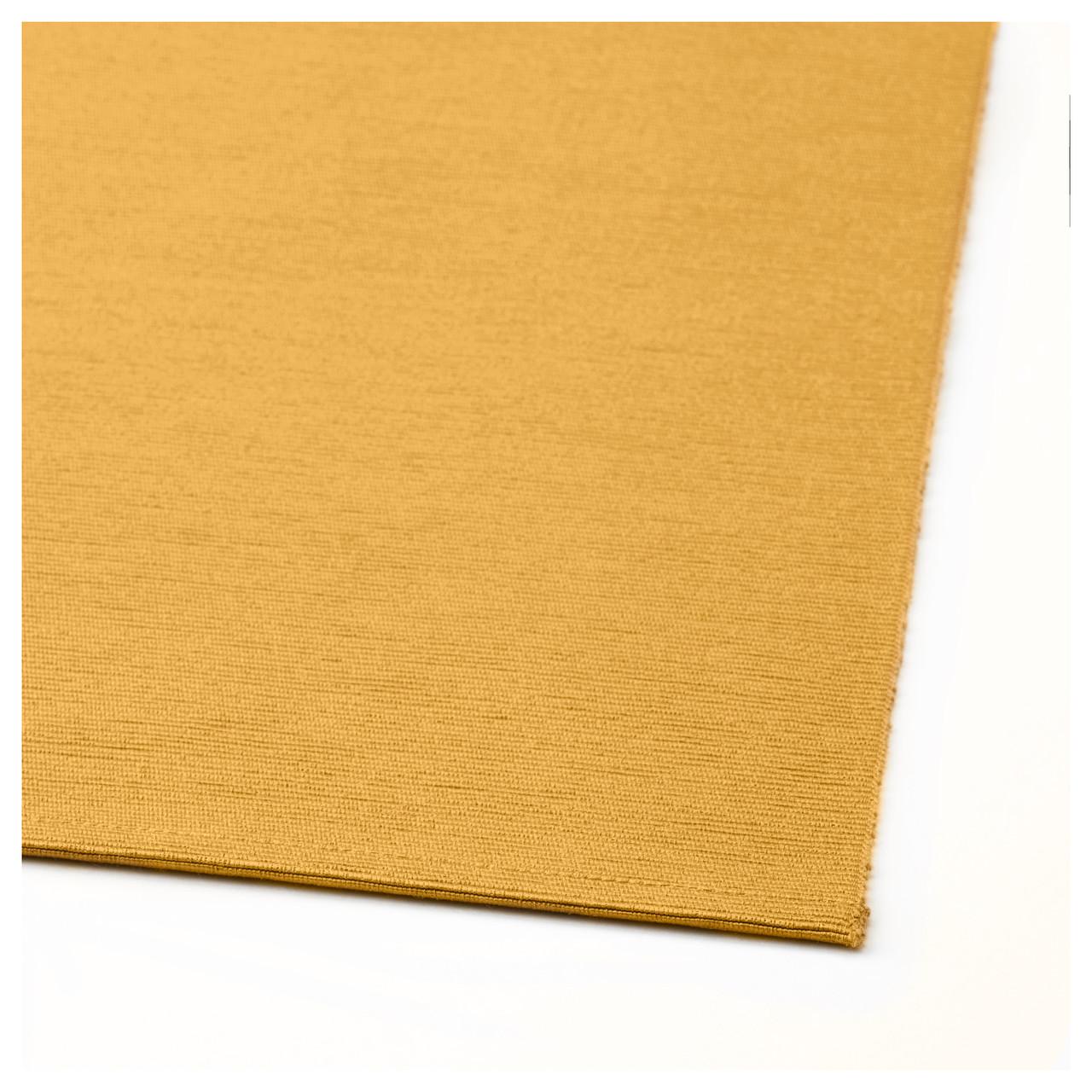 МЭРИТ Салфетка настольная, темно- желтая, 35x130 см, 20362892 IKEA, ИК