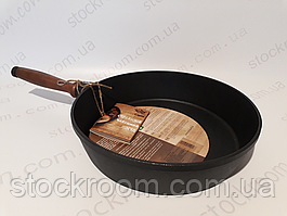 Сковорода чугунная Krauff 29-210-004 Ø 26 см