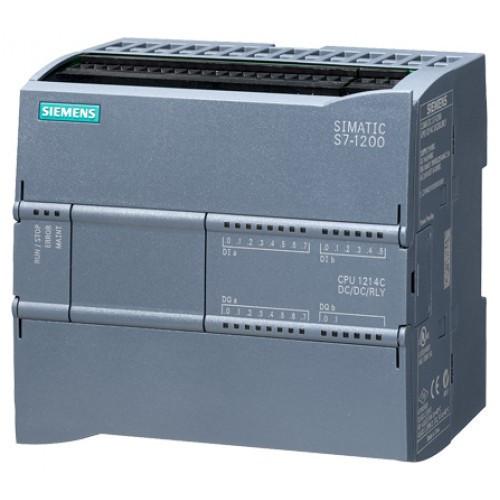 Siemens Simatic S7-1200, компактное ЦПУ CPU 1212C DC/DC/RLY,  6ES7212-1HE31-0XB0
