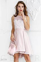Нежное праздничное платье
