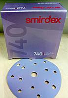 Абразивный диск Smirdex Ceramic Line(740) - P320, D150, 15 отверстий.