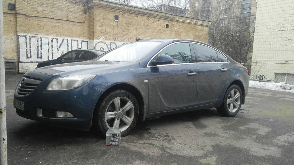 Автобаферы TTC на Opel Insignia