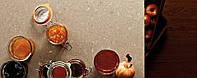 Интерьер кухни с использованием искусственного (кварцевого) камня Caesarstone 4230 Shitake
