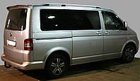 Рейлинги на крышу модель CROWN Volkswagen T5 2003-2015 КОРОТКАЯ БАЗА, цвет серый мат