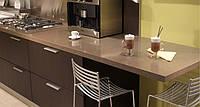 Интерьер кухни с использованием искусственного (кварцевого) камня Caesarstone 4350 Mink