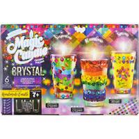 """Набор парафиновые свечи с кристалламми """"Magic candle cryctal"""""""