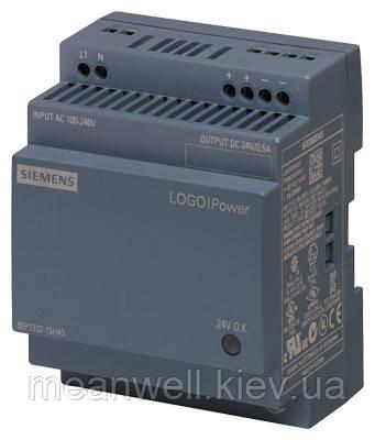 6EP1332-1SH43 Блок питания на Din-рейку Siemens LOGO! Power 24В, 2,5A