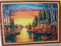 """Алмазная живопись картина """"Пейзаж"""" (107х67 см)"""