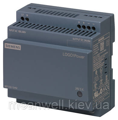 6EP1332-1SH52 Блок питания на Din-рейку Siemens LOGO! Power 24В, 4A