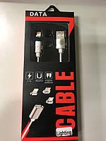 Магнітний кабель Lighting для IOS Apple IPhone, IPad.