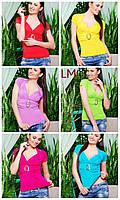 Кофта Клодин 42,44,46,48,50 размеры женская летняя яркая футболка