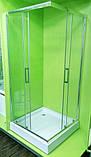 Душевая кабина VERONIS KNS-90 прозрачное стекло 90х90х195 (ИТАЛИЯ), фото 2