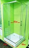 Душевая кабина VERONIS KNS-90 прозрачное стекло 90х90х195 (ИТАЛИЯ), фото 6