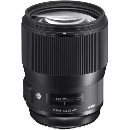 Объектив Sigma 135mm f1.8 DG HSM Art Lens for Nikon F (240955)
