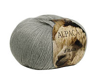 Пряжа Сеам Alpaca d'Italia серый